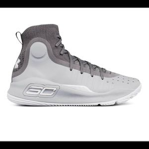 Under Armour Kids Curry 4 Mid Basketball Shoes